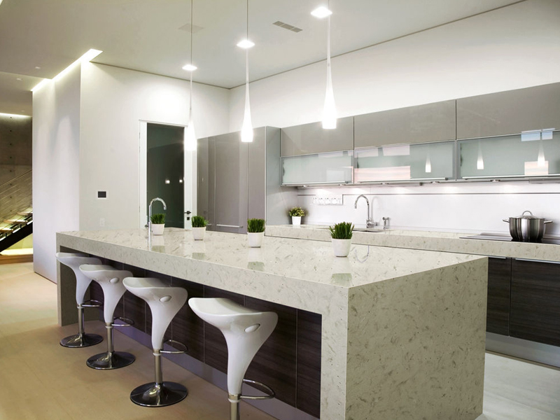 China quartz kitchen top price