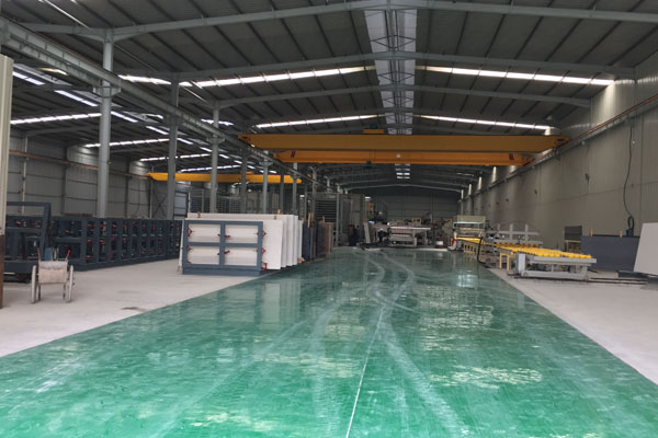 Quartz production line