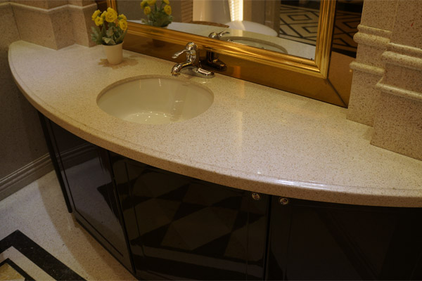 Cut to size vanity top marble