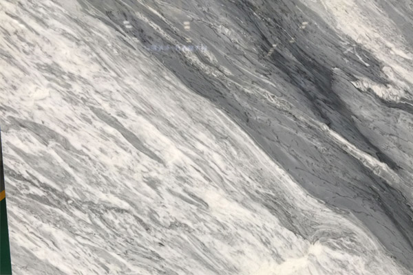 grey and white marble slab