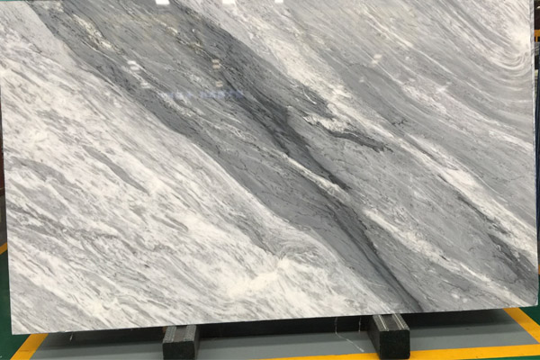 natural grey marble slab project materials