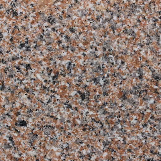 Red granite for building