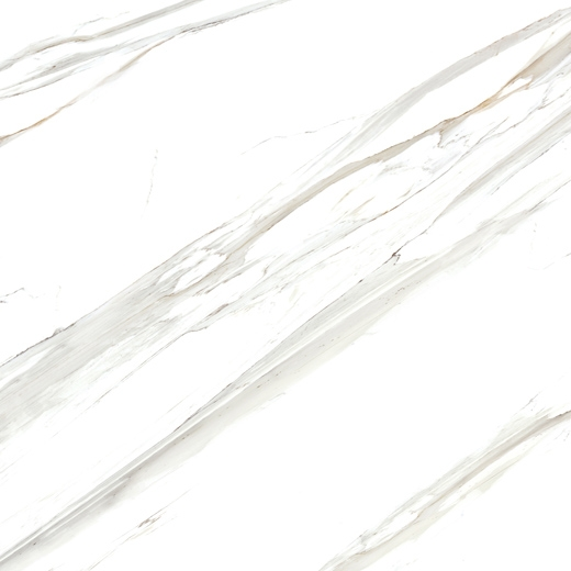 Manufactured Calacatta white marble